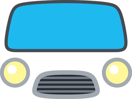 Car face front mask
