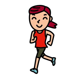 People - Running - f04