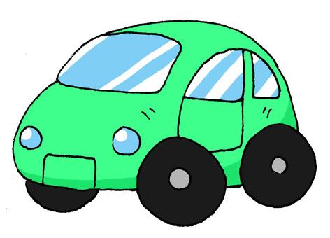 Passenger car green