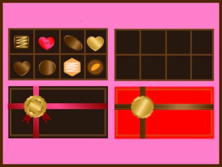 Chocolate set ②