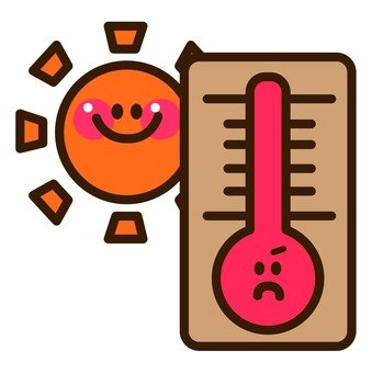 The sun and the thermometer