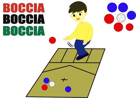 Boccia Men Paralympic Games