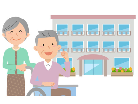 60201. Long-term care facility, couple