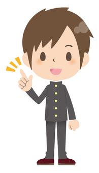初中生(男生)*基本姿勢02