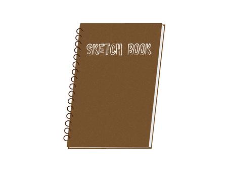 Sketch book illustration