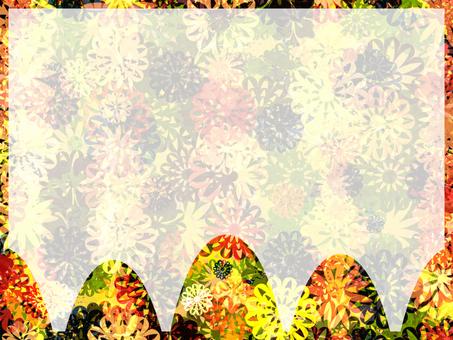 꽃 카드 (생생한)