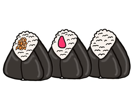 Rice ball series ⑤