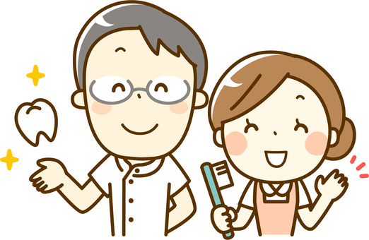 Dentist and Dental Hygienist 02