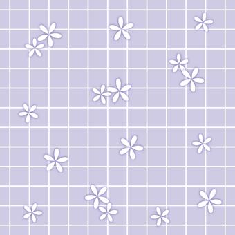 꽃 벽지 06