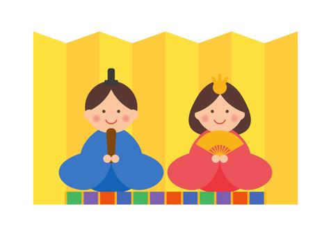 Hinamatsuri illustration 1