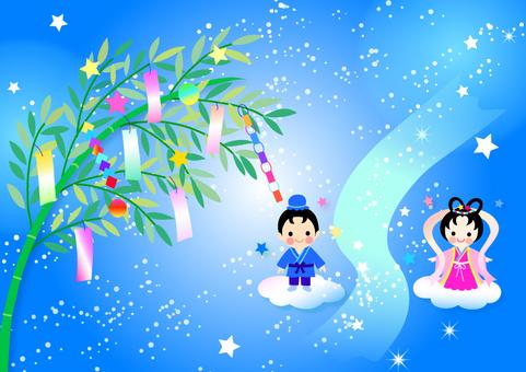 Tanabata illustration