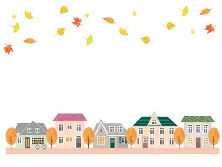 Autumn cityscape