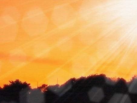 Asahi sunset wallpaper background