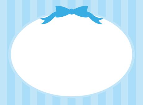 Cute frame (blue)
