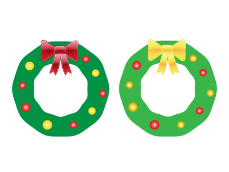 Christmas lease material set