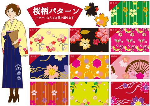 Pattern (Sakura), Hakama