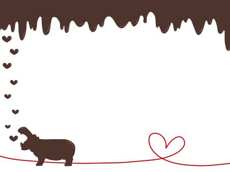 Valentine's Hippo