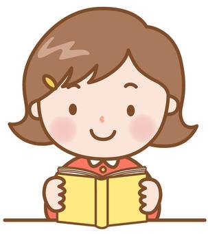 Girls: Reading