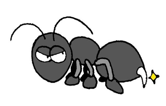Stabbing ant
