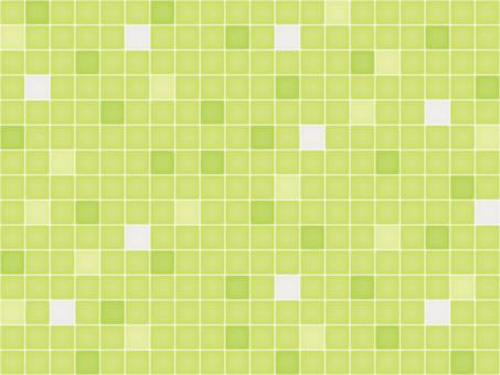 Wallpaper tile yellow green