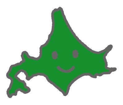 Anthropomorphized Hokkaido