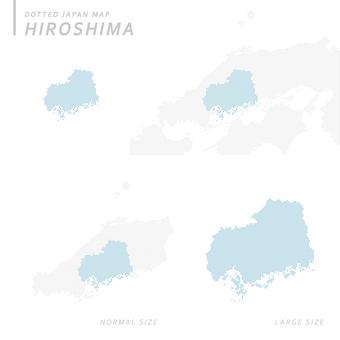 Dot map hiroshima