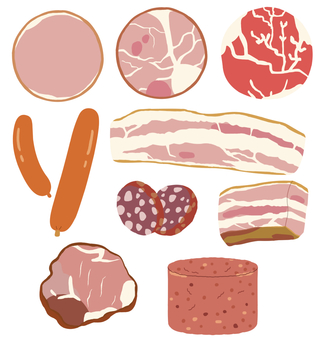 Meat (processed meat) * Borderless