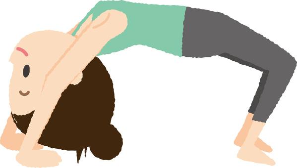 Yoga arch pose