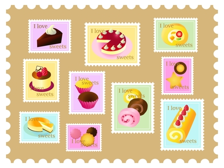 Stamp sweets sweets