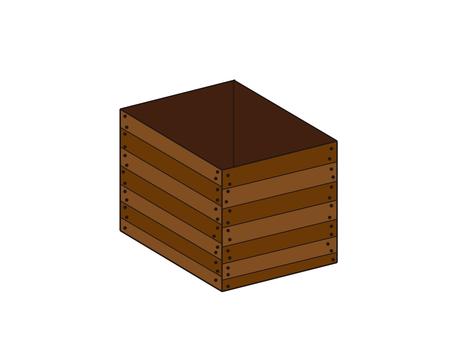 나무 상자 개봉