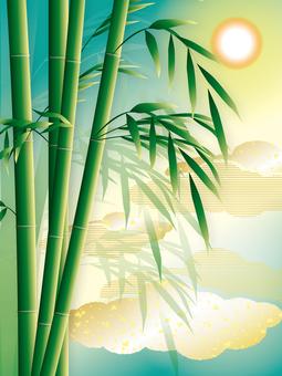 Bamboo Japanese Pattern 2