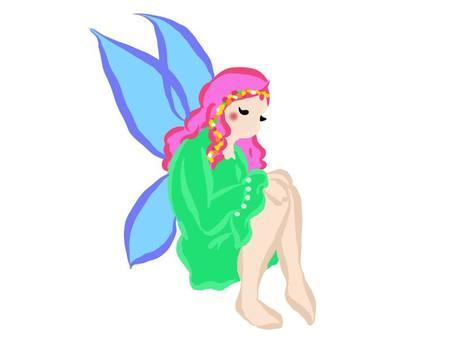 Sitting Fairy 4