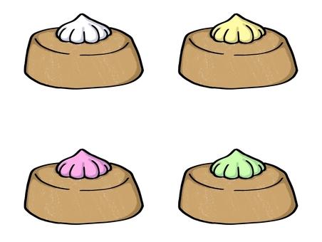 완두콩 비스킷