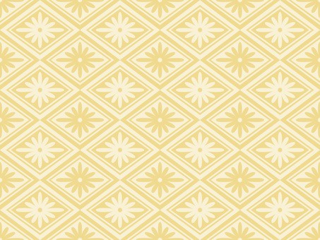 Wallpaper Chrysanthemum 02 Lateral Loopy Yellow