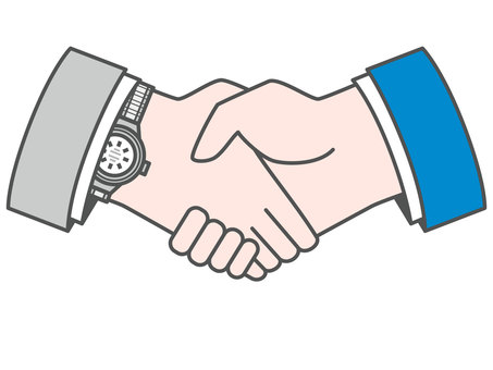 Handshake (suit and suit)