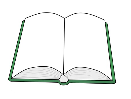 Illustration of an open book