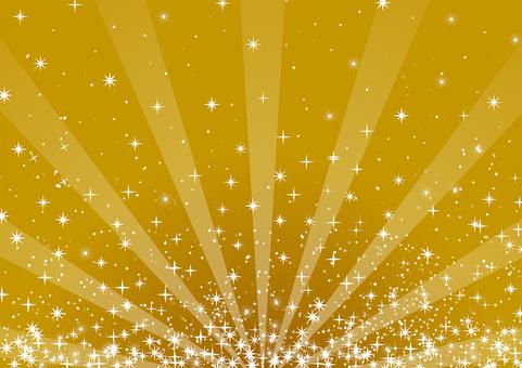 황금 반짝 반짝 빛나는