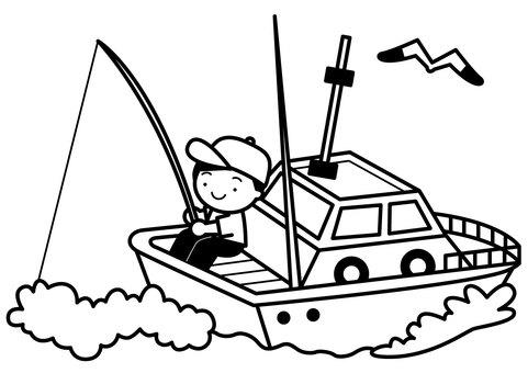 Fishing boat 1c