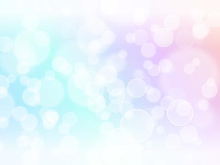 圆形灯光·彩虹色