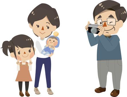가족 - 사진 촬영