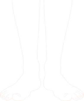 ai person's legs · Front line drawing