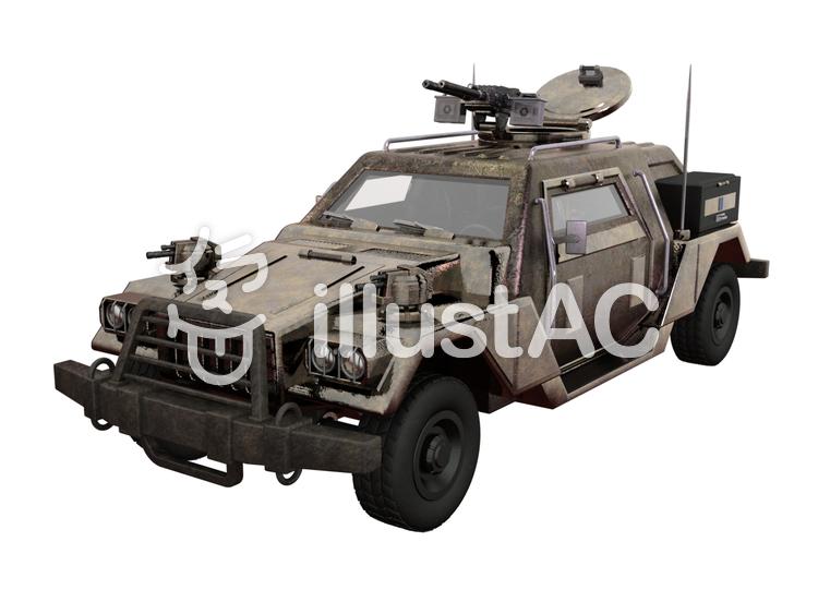 攻撃型車両のイラスト