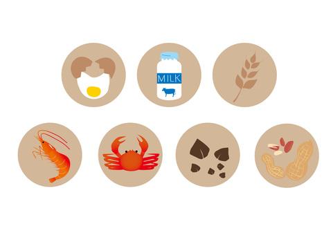 7種過敏特定成分
