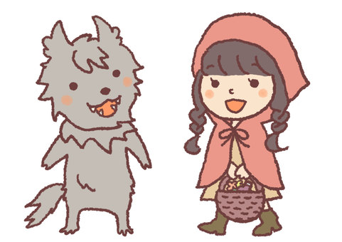Wolves and Little Red Riding Hood