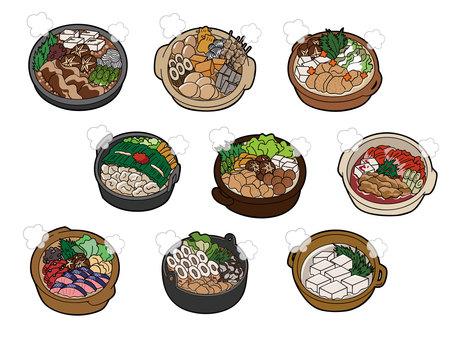 Nabe cooking set