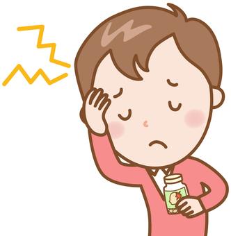 Headache: male