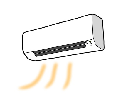 Simple air conditioning (heating)