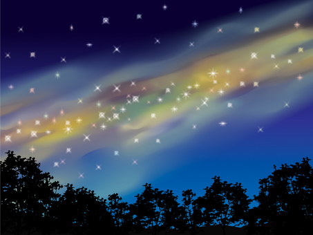 Night sky_star 2
