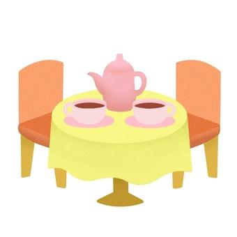 茶室的顏色2