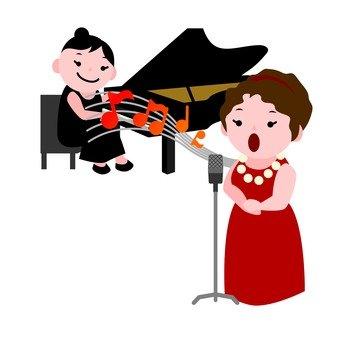 Classical singer (woman)